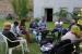 Malen und Märchen hören im Schlossgarten