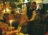 Lätzchen hoch in Mode -  Marienbad -  abends in  der   Goldenen Kugel