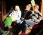aufmerksame Zuhörer in der Kulturscheune