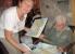 Die Kulmbacher Künstlerin Ilse Pfitzner (90) verschenkt tolle Aquarelle