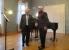 """Martin Högner (Klavier) und Bernd Schneider (Tenor) von der """"Weimarer Liedertafel"""""""