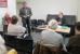 Vortrag von Prof. Hans-Joachim Kertscher aus Halle zu Anakreontischem Dichten - Michael Roth begrüßt