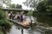 Floßfahrt auf der Saale