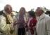 Interessierte Gäste aus Jena und Zeulenroda unterhalten sich mit dem Geraer Vereinsvorsitzenden