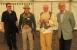 Gastgeber und Besucher aus Weimar - von links Dr. Petra Oberhauser, Roland Panitz, Bernd Kemter und Dr. Jochen Golz