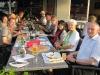 Schweizreise- Abendessen am Hotel in Horgen