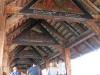 Schweizreise, Luzern, an der berühmten Holzbrücke