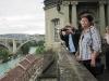 Schweizreise,Bern, Blick auf den Aare-Bogen