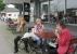 Rüdesheim-Bingen, warten aufs Schiff