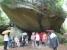 steinerner Regenschirm