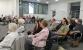 Teilnehmer der Veranstaltung im Kommunikationszentrum der Sparkasse