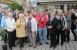 Zu Gast bei Kulmbacher Literaturfreunden Mai-2012- Begrüßung auf dem Kulmbacher Markt