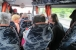 Fahrt zum Edersee - Selbst im Bus wird diskutiert